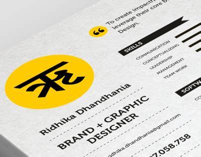 Resume freelance graphic designer